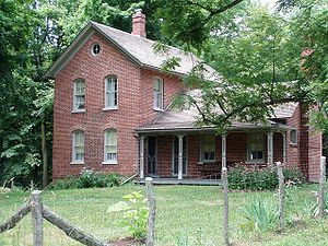 Chellberg Farm - The 1885 Brick House on the Chellberg Farm