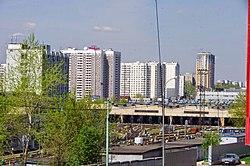Skyline of Chertanovo Severnoye縣