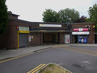Chessington South railway station - Image: Chessington South stn building
