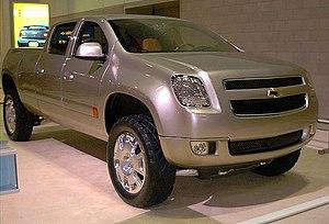 The Chevrolet Cheyenne