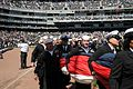 Chicago White Sox pregame ceremony 090407-N-BR775-004.jpg