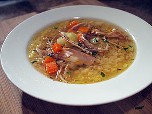 Chicken soup - Image: Chicken Noodle Soup