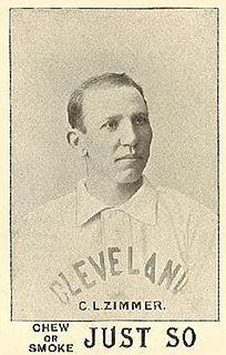 Chief Zimmer Major League Baseball catcher