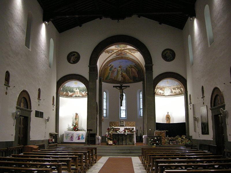File chiesa di san pietro a mezzana interno 01 jpg for Interno san pietro