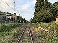 Chikuho Main Line on south side of Chikuzen-Uchino Station 3.jpg