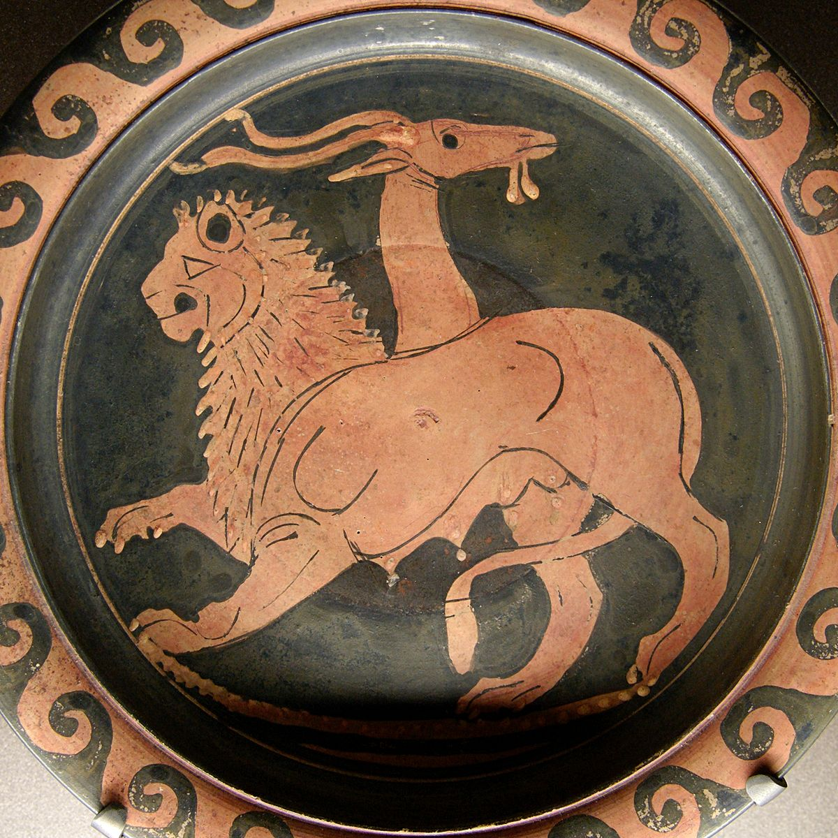 Image result for ancient greek Chimera
