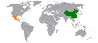China–Mexico relations Diplomatic relations between the Peoples Republic of China and the United Mexican States