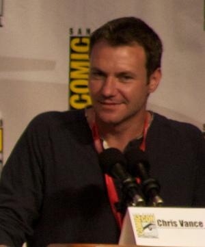 Chris Vance (actor) - Chris Vance at San Diego 2010 Comic-Con International