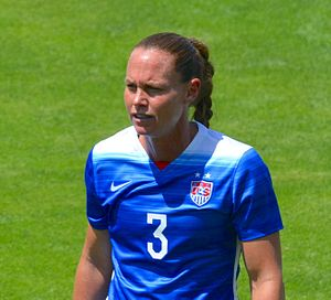 Christie Pearce - Pearce training with the United States team in 2015.