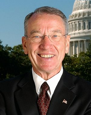 {{w|Chuck Grassley}}, U.S. Senator from Iowa.