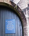 Church Door Notice, St Michael and All Angels, Princetown, Dartmoor - geograph.org.uk - 380499.jpg