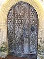 Church door, All Saints Church, Hilton - geograph.org.uk - 985985.jpg