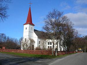 Niels Stockfleth Darre Eckhoff - Nesna Church.