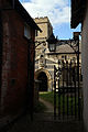 Church of Ss Mary & Lawrence - alley to south porch.JPG