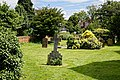 Church of St Andrew's, Boreham, Essex - churchyard graves at east.jpg