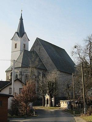 Dvor pri Polhovem Gradcu - Image: Church of St Peter in Dvor pri Polhovem Gradcu Slovenia