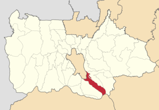 Ciawi, Bogor District in West Java, Indonesia