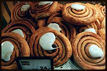 Cinnamon snails, a type of dabby-dough