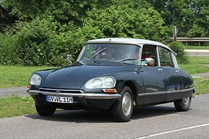 Car of the Century - 3rd place: Citroën DS