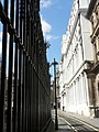 City of Westminster, ironwork and stonework in Bell Yard - geograph.org.uk - 865157.jpg