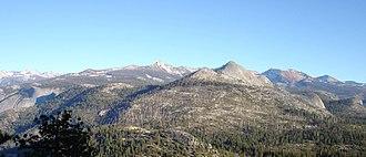 Clark Range (California) - Image: Clark Range Yosemite National Park edited