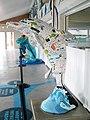 Clearwater Marine Aquarium, dolphin statue.jpg