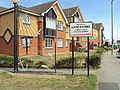Cleveleys and Lancashire welcome signs, A587 - DSC06524.JPG