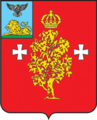 Coat of Arms of Borisovo rayon (Belgorod oblast).png