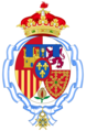 Coat of arms of Infanta Elena of Spain (2001-2010).png