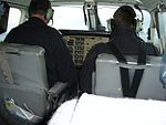 Cockpit of Kenn Borek Air Beech King Air 100 C-GHOC.jpg