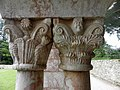 Codalet (66) Abbaye Saint-Michel de Cuxa Cloître Chapiteau 38.JPG