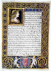 Codex page with portrait by Ambrogio de Predis.jpg