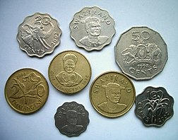 Coins of swaziland