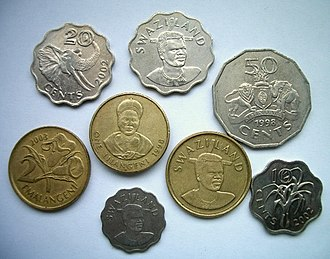 Swazi lilangeni - Image: Coins of swaziland