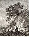 Collection de cent-vingt estampes, gravée d'après les tableaux and dessins qui composoient le cabinet de m. Poullain précédée d'un abrégé historique de la vie des auteurs qui la composent Cette suite (14798624203).jpg