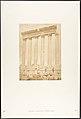 Colonnade du Temple du Soleil, à Baâlbek (Héliopolis) MET DP131972.jpg
