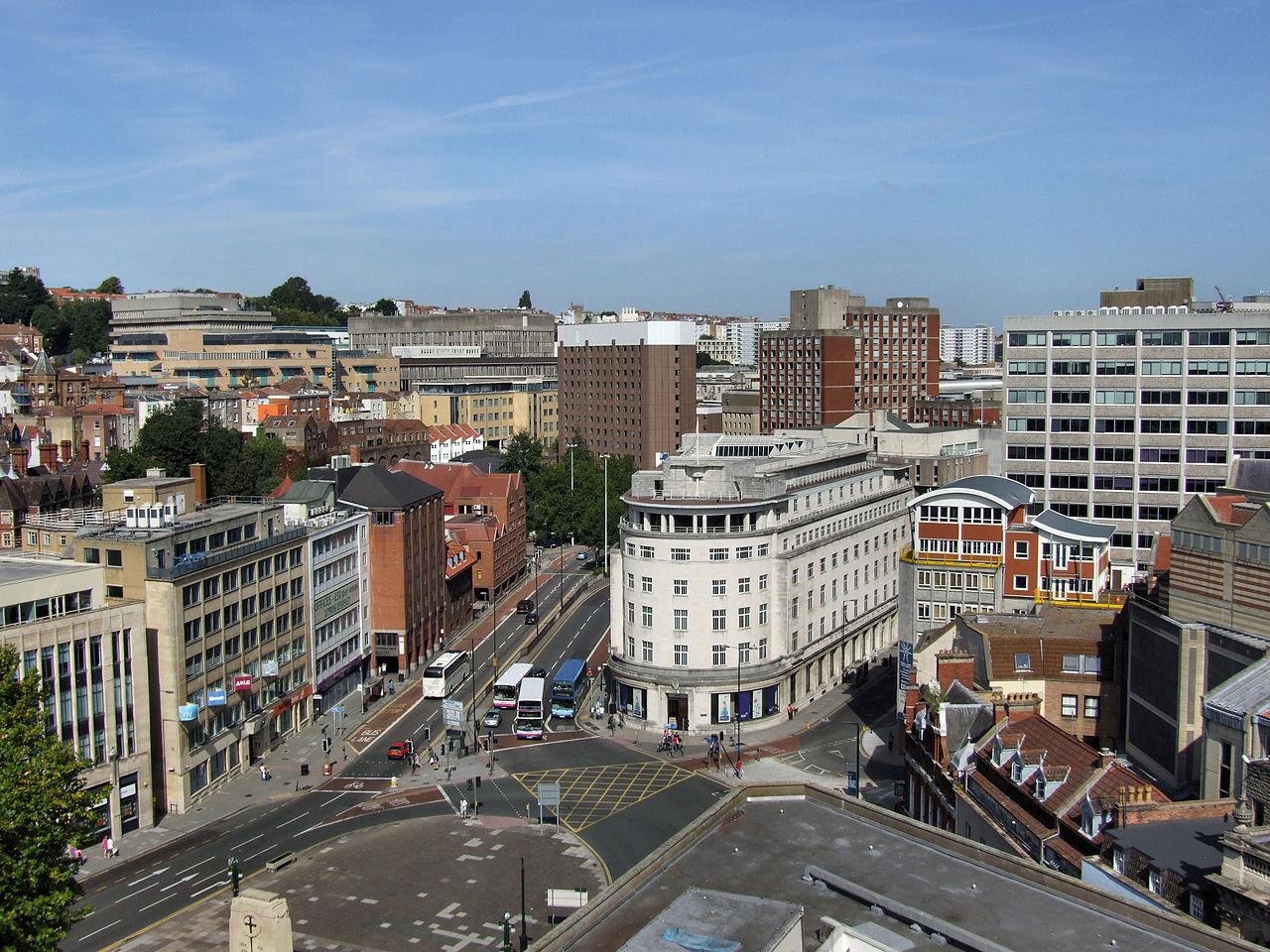 Size Birmingham City Centre