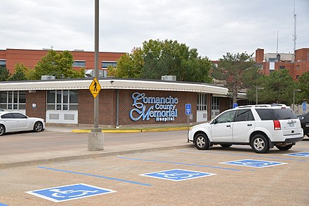 Comanche County Memorial Hospital Comanche County Memorial Hospital, Lawton, OK, US.jpg
