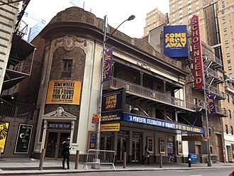 Come from Away - Come From Away on Broadway at the Gerald Schoenfeld Theatre.