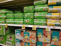 Comfort and Pampers Disposable Diapers.JPG