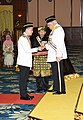Conferred state awards and medals on 4th November 2017 in conjunction with the 79th birthday of the Melaka Yang Dipertua Negeri.jpg