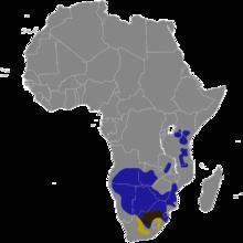 Connochaetes map.png