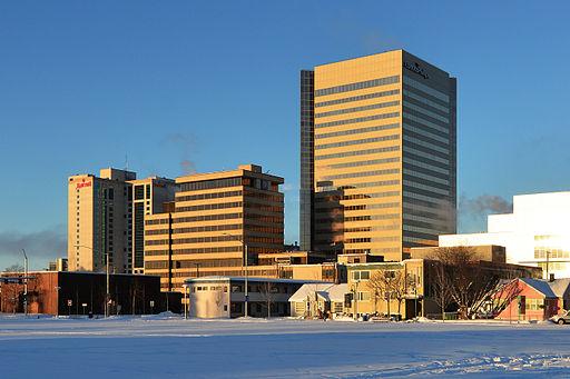 Conoco-Phillips Building. Anchorage, Alaska