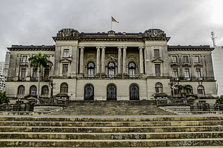 Maputo City Hall building in Mozambique