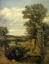 Constable's Dedham Vale of 1802