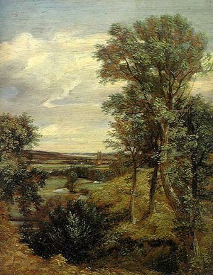 1802 in art - John Constable, Dedham Vale, 1802