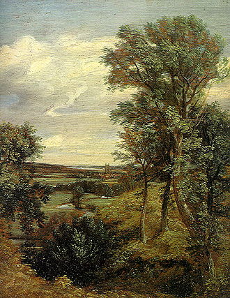 John Constable - Dedham Vale (1802). Victoria and Albert Museum, London