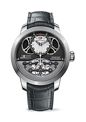 Girard-Perregaux - In 2013, Girard-Perregaux presented its Constant Escapement, an answer to the waning power in traditional mechanical watches.