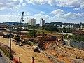 Construção do túnel de acesso ao Bairro da Ponte São João Junho-2013. - panoramio.jpg