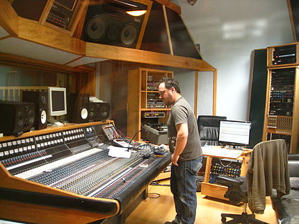 Control room of Supernatural Sound.jpg